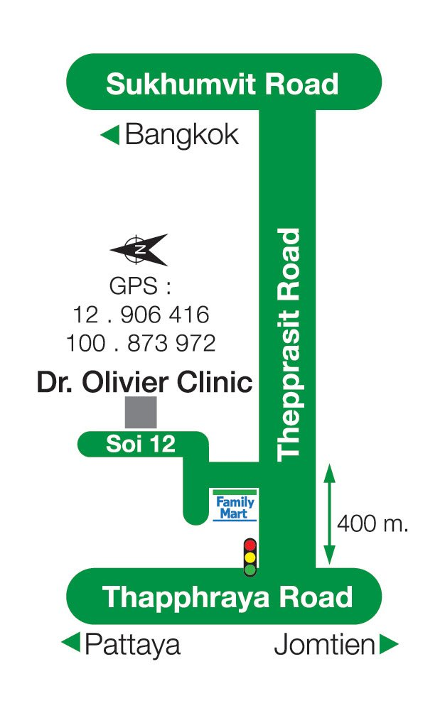 Dr.oliver-clinic-map-pattaya