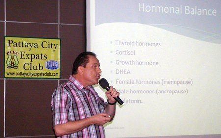 January 5 speech to Pattaya City Expat Club about anti-aging medicine – Part 1 & 2-532